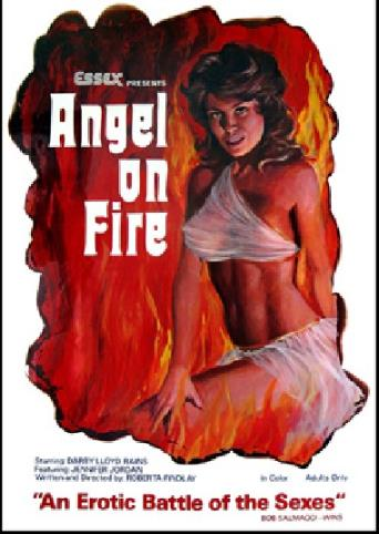 Angel On Fire from Vinegar Syndrome front cover