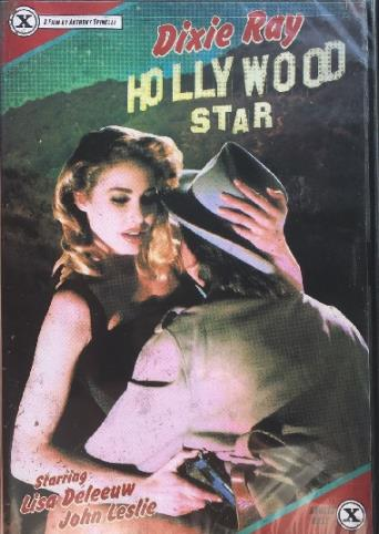 Dixie Ray Hollywood Star from Vinegar Syndrome front cover