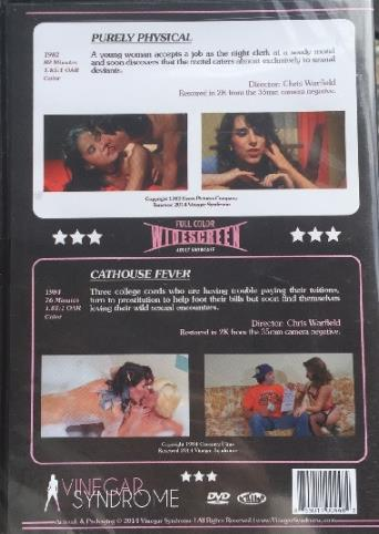 Cathouse Fever from Vinegar Syndrome back cover