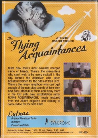 Flying Acquaintances from Vinegar Syndrome back cover