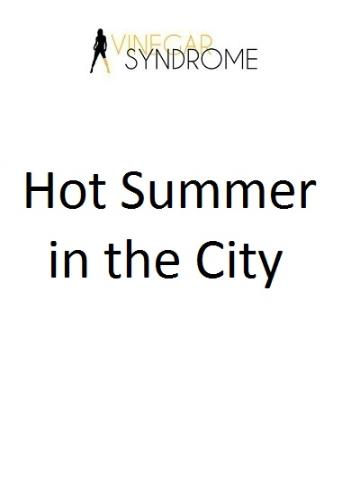Hot Summer In The City from Vinegar Syndrome front cover
