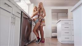 Lesbian Babysitters 16 Scene 2